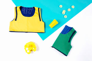 tricksters amusewear ethical ecofriendly fashion made in belgium colourful colours happy fun