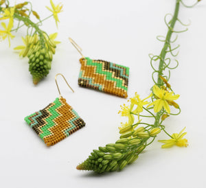 Zig Zag Earrings - Ethical Brandz