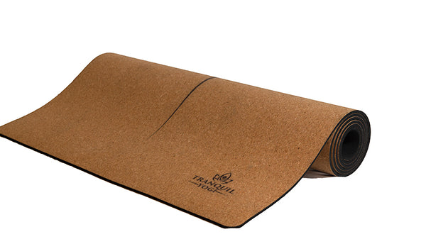 Tranquility Essentials 5mm Cork Yoga Mat. - Ethical Brandz