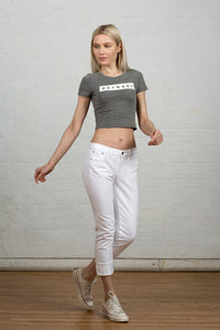 Women's Perhaps Crop Top
