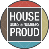 House Proud Signs and Numbers