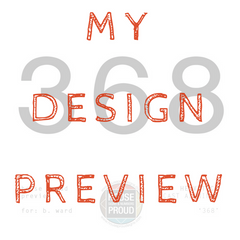 Preview your House Proud custom house number on My Design Preview