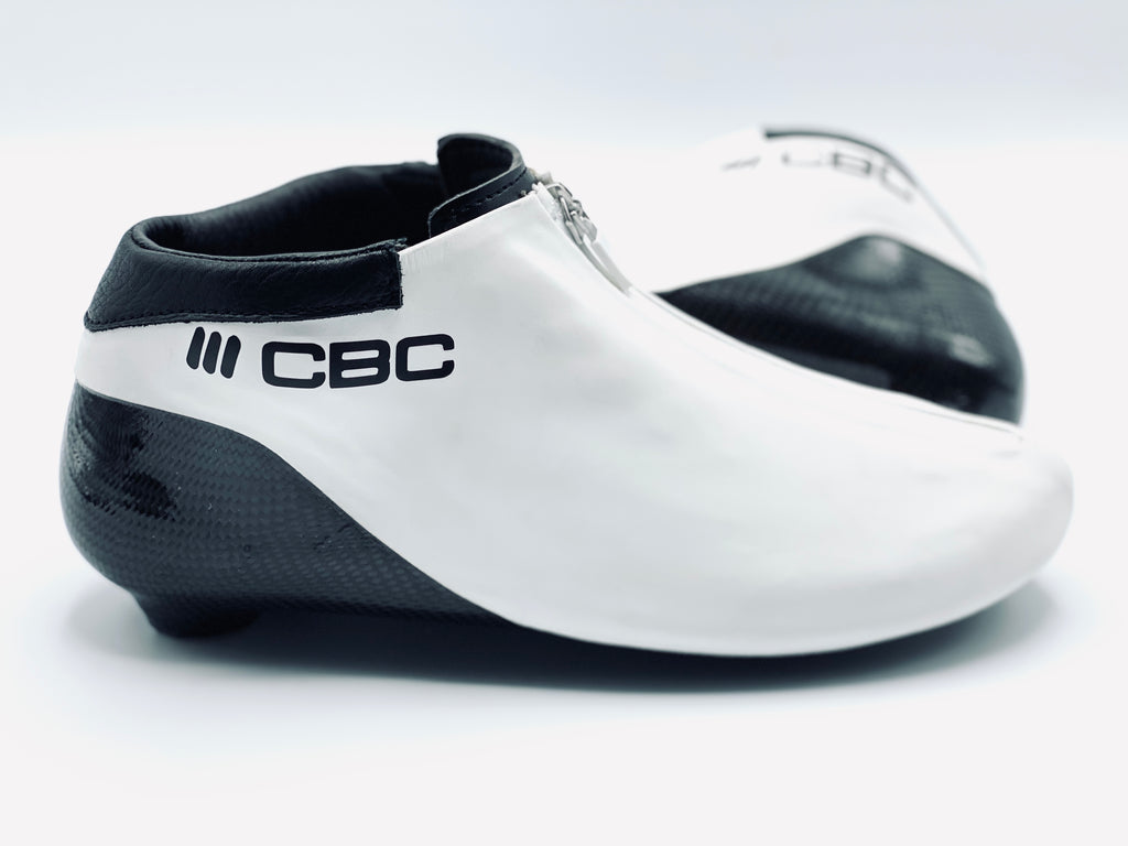 CBC GENESIS Long Track Speed Skating Boot - White