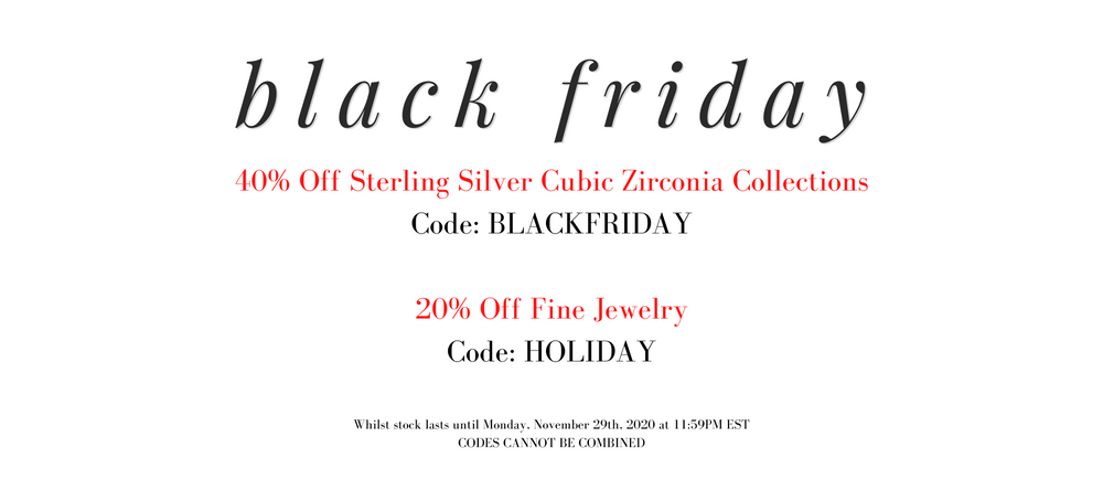 Black Friday Codes for Jewelry Gifts 2020