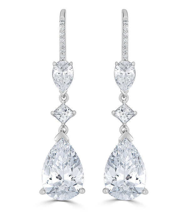 Ava Teardrop Earrings - Thomas Laine Jewelry