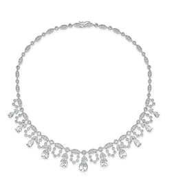 Grace Pear Statement Necklace