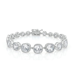 Lucille Cushion Cut Bracelet