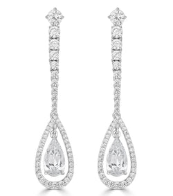 Duchess Teardrop Earrings