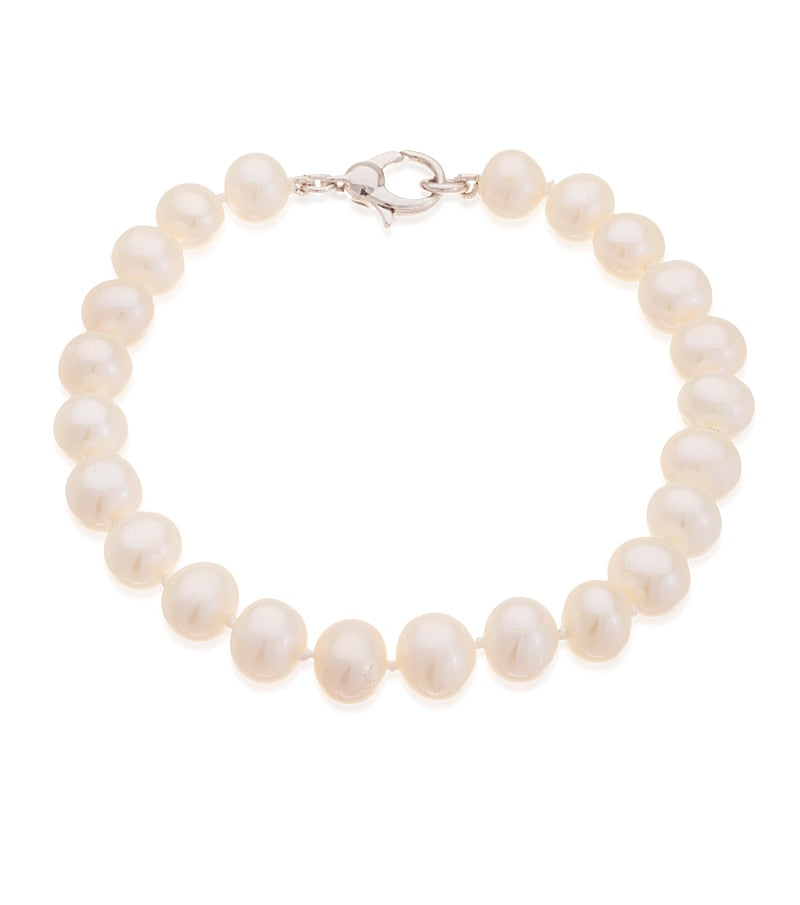 Freshwater Pearl Set – Necklace Bracelet Earrings