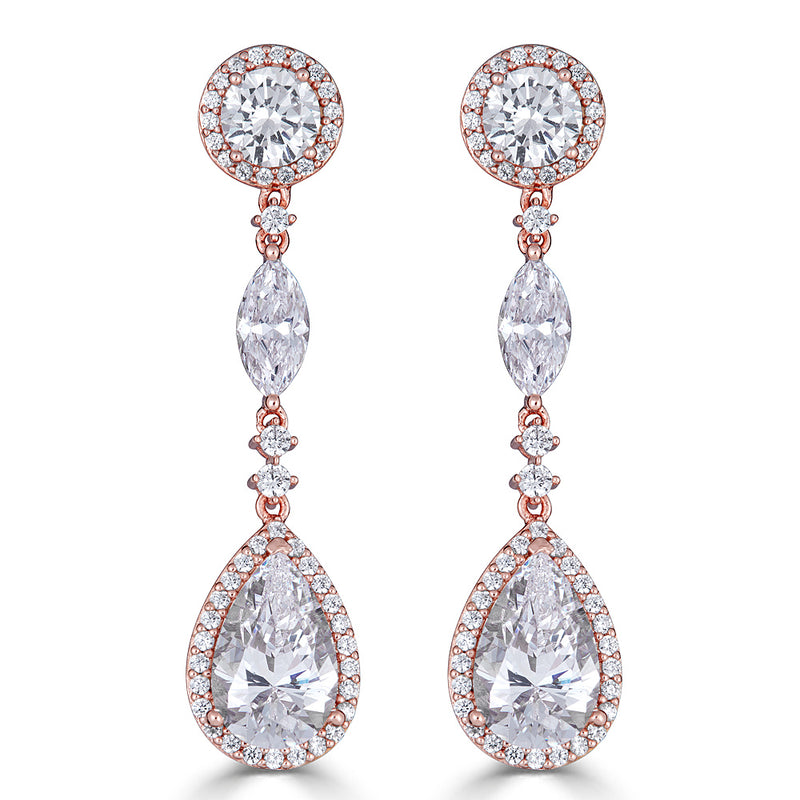 Duchess Trio Drop Earrings
