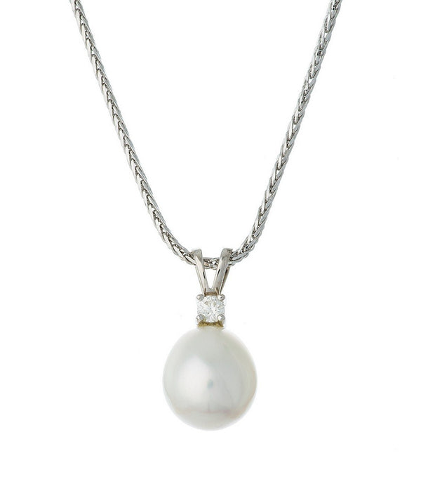 South Sea Pearl and Diamond Necklace