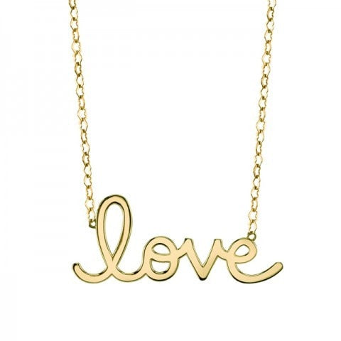 14K Gold PURE Love Necklace - Thomas Laine Jewelry