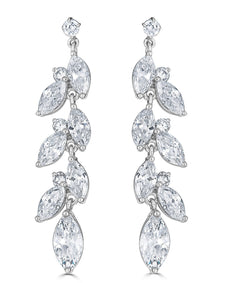 Rita Cascading Marquise Earrings