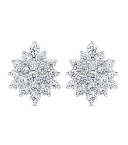 Grace Cluster Earrings
