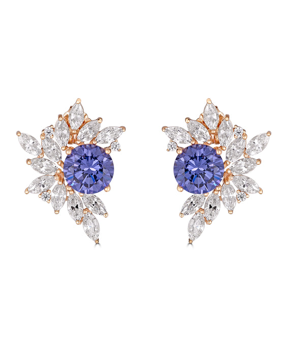 Liz Garland Cluster Earrings - Thomas Laine Jewelry