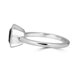 Cushion Cut Bezel Ring