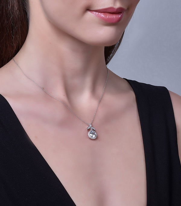 Hollywood Halo Pendant Necklace