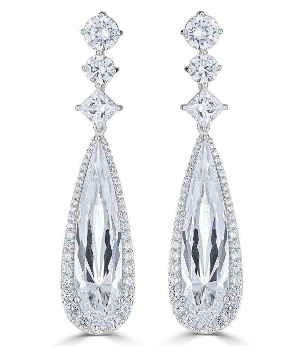 Duchess Regal Drop Earrings - Thomas Laine Jewelry