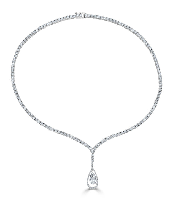 Duchess Teardrop Necklace - Thomas Laine Jewelry