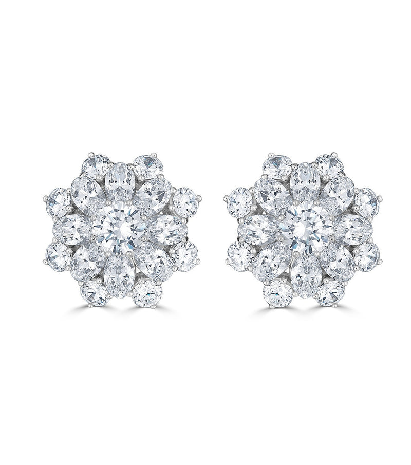 Liz Garland Burst Earrings - Thomas Laine Jewelry