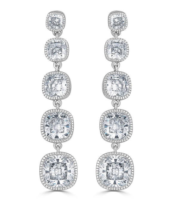 Lucille Long Drop Earrings - Thomas Laine Jewelry