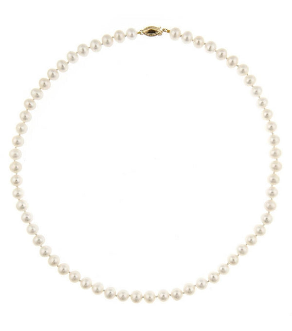 Strand of Fresh Water Pearls  Thomas Laine Jewelry
