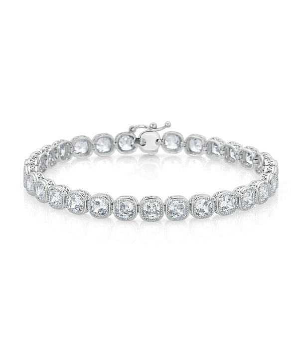 Lucille Small Cushion Cut Bracelet