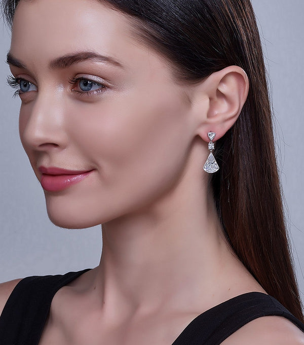Lucille Drop Earrings - Thomas Laine Jewelry