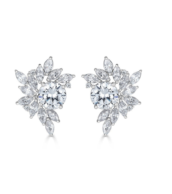 Liz Garland Cluster Earrings