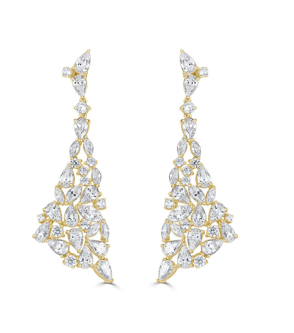 Rita Statement Drop Earrings