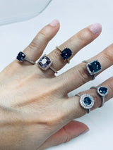 Diamond Halo Engagement Rings - Alternative Engagement Rings