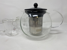 Load image into Gallery viewer, Bodum Glass Teapot with Steel Infuser Press