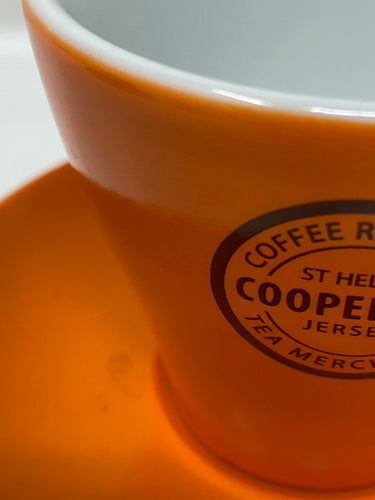 Cooper & Co. Branded Cup with Saucer