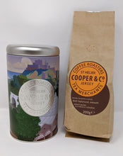 Load image into Gallery viewer, Jersey Blend Coffee and Cooper & Co Caddy