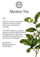 Load image into Gallery viewer, Mystery Tea Subscription