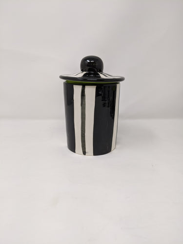 Reckless Broad Stripe Tea Caddy