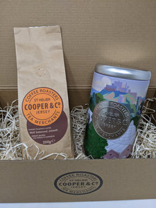 Jersey Blend Coffee and Cooper & Co Caddy