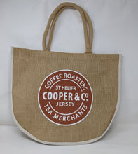 Load image into Gallery viewer, Cooper & Co. Jute Shopper