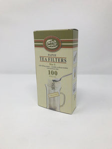 Paper Tea Filters with Filling Spout (100)