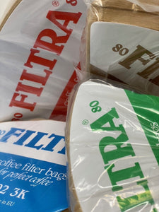 Filtra Coffee Filter Papers (80)