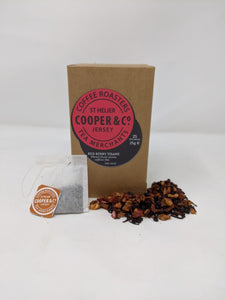 Red Berry Tisane - 25 Foil-Wrapped Tea Bags