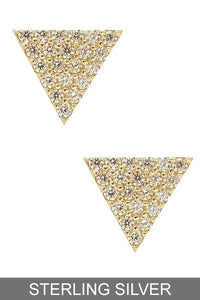 Triangle of Love Earrings