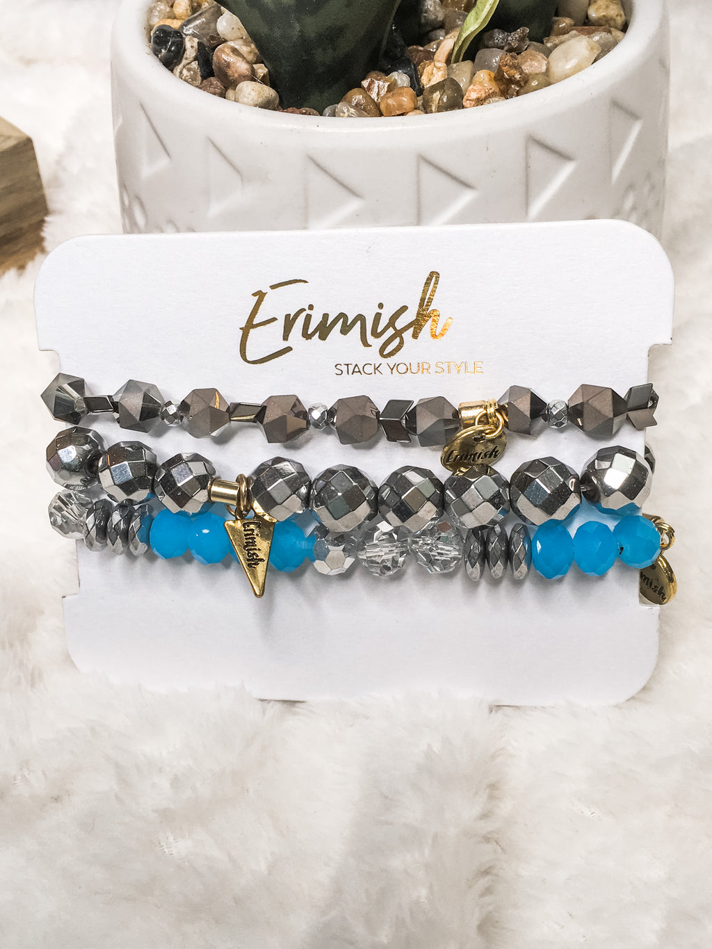 Erimish Blue & Grey