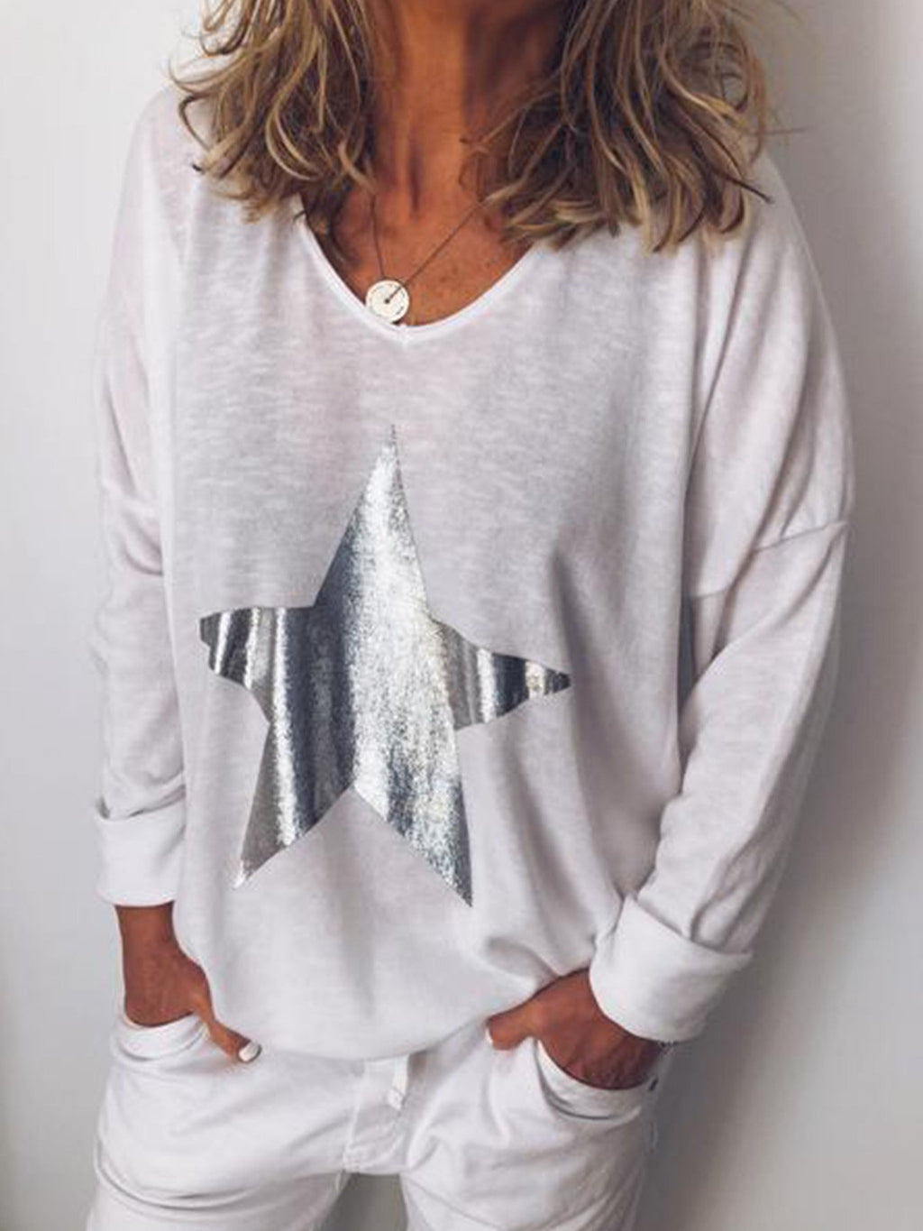 Women Casual Loose T Shirt Tops Tunic