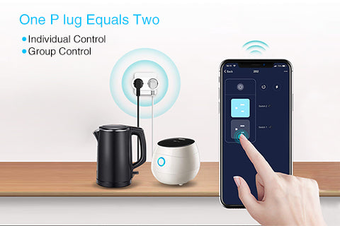 2in1 Smart Power Outlet