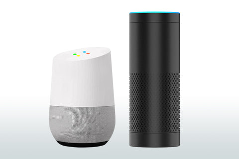 Voice Control With Alexa or Google Home