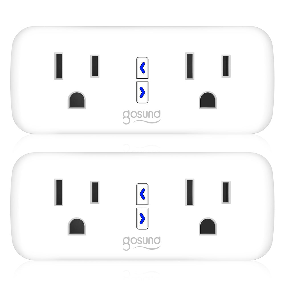 Dual 2 in 1 Smart Plug (Only for USA)