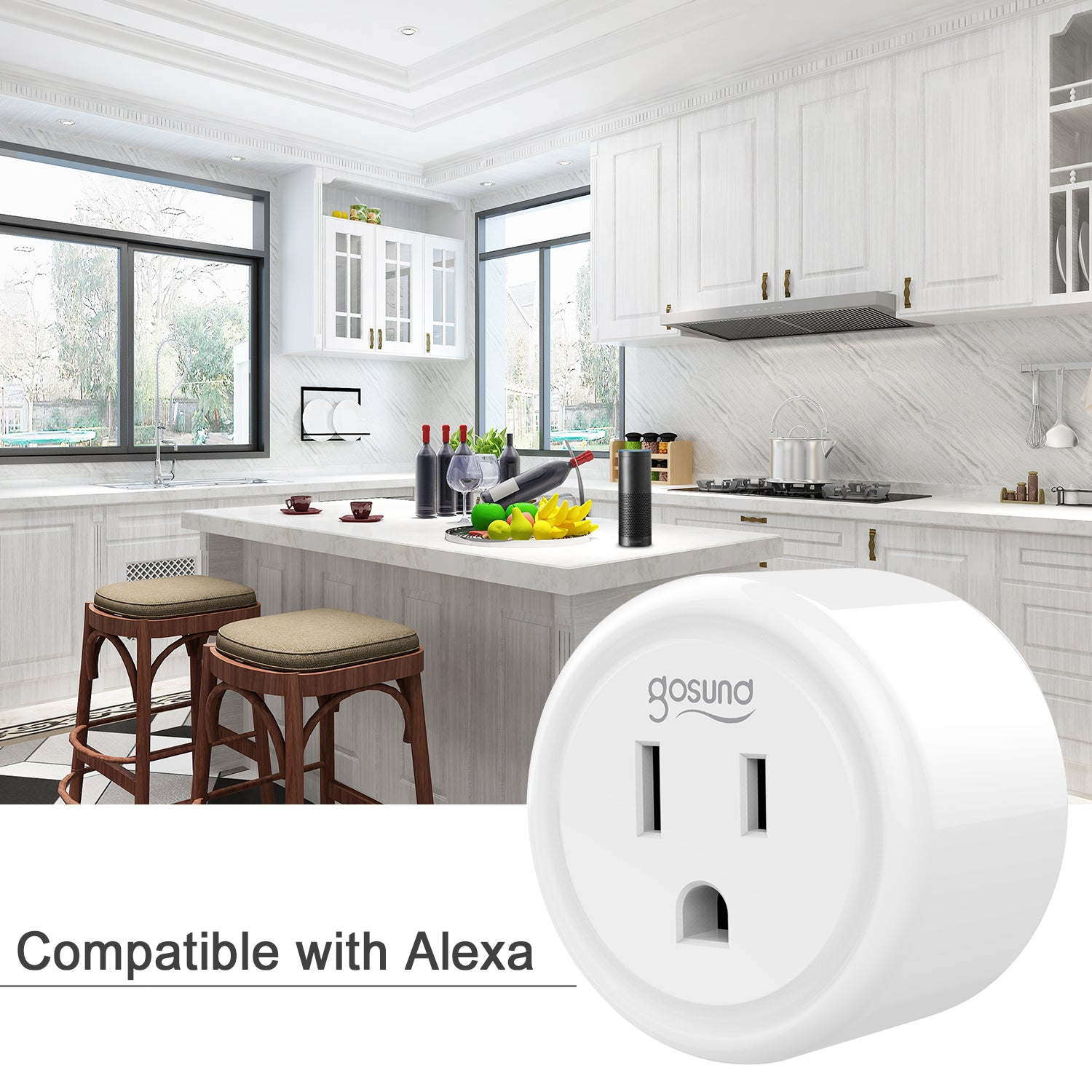 Smart Wall Socket Alexa Google Home