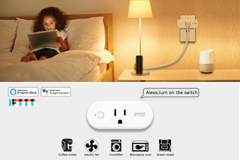 Works with Amazon Alexa, Google Home & Supports IFTTT