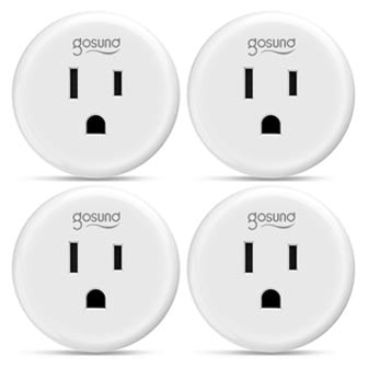 A small and compact wireless plug. Perfect for controlling all appliances rated below 1100W.